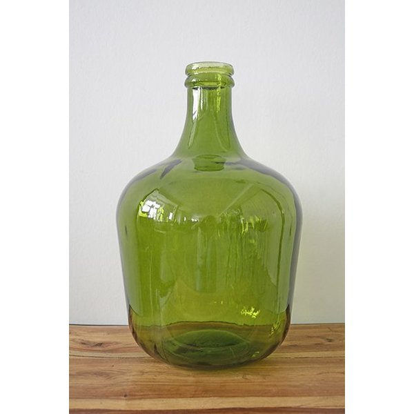 Vase aus recyceltem Flaschenglas