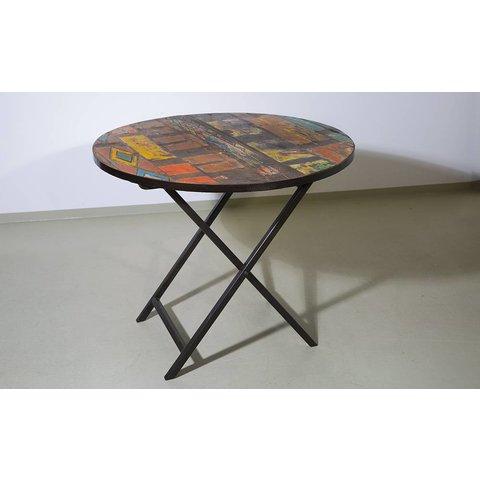 Holztisch Fria, Durchmesser 90 cm