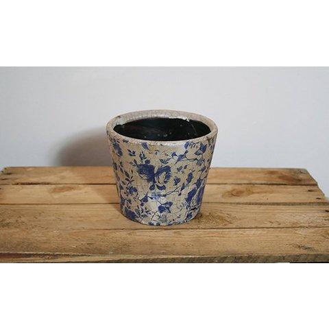 Keramik-Übertopf, matt