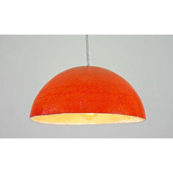 Hängelampe Kalebasse, Orange
