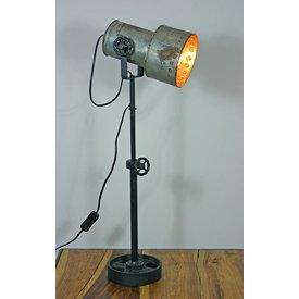 Tischlampe Lores, regulierbare Höhe