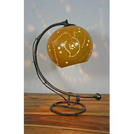 Tischlampe Kalebasse I, gelb