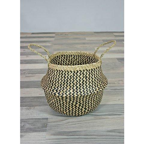 Seegras Korb Sikar, Höhe: 30 cm