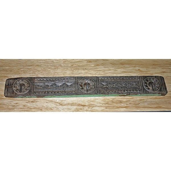 Kleiderhaken Ongole, Mahagoni Holz