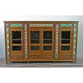 Vitrinenschrank Agra, antik