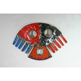 Wandpaneel, Maske
