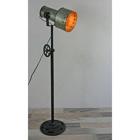 Stehlampe Lores, regulierbare Höhe