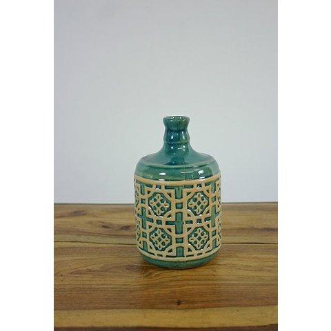 Keramik-Vase