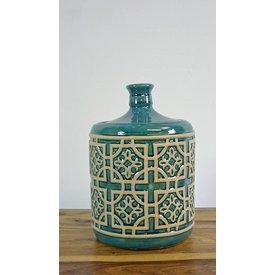 Keramik-Dose mit Deckel