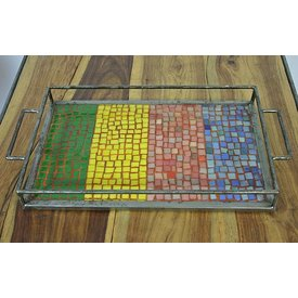 Mosaik Tablett Orodara