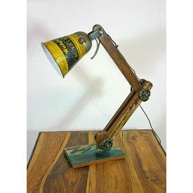 Tischlampe / Schreibtischlampe Color, gelb