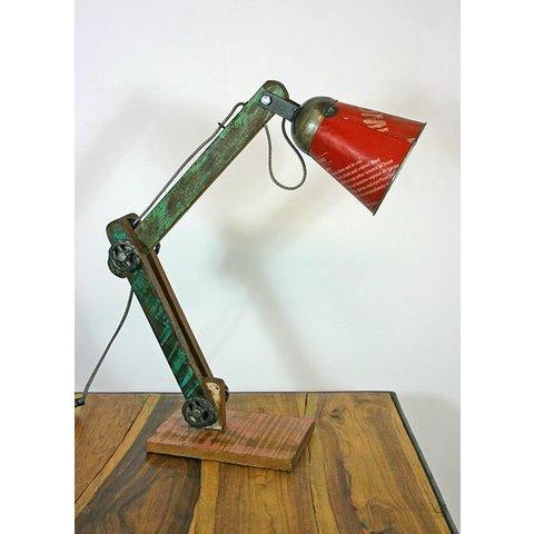Tischlampe / Schreibtischlampe Color, rot