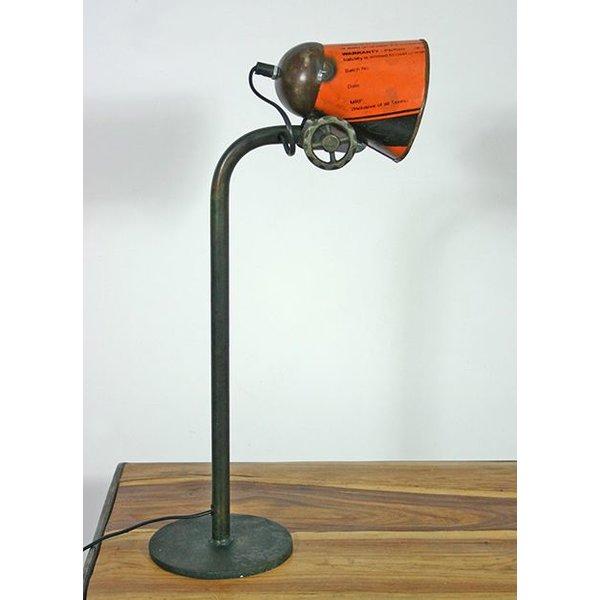 Tischlampe / Schreibtischlampe Serona, orange