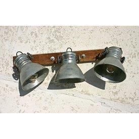 Wandlampe / Deckenlampe Gonti, Triple