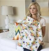 Udder Covers Voedingsdoek Charlotte (wit/groen/oranje/roze/paars/blauw)