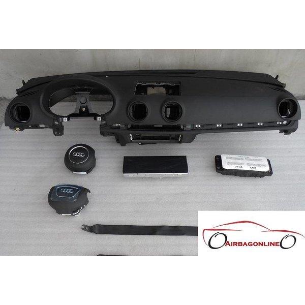 Audi A3 8V complete dashboard airbag set