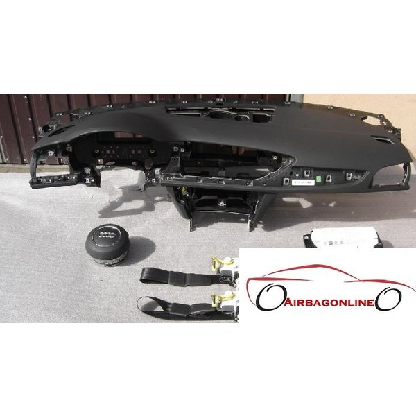 Audi A6 4G Complete Airbag Set Dashboard
