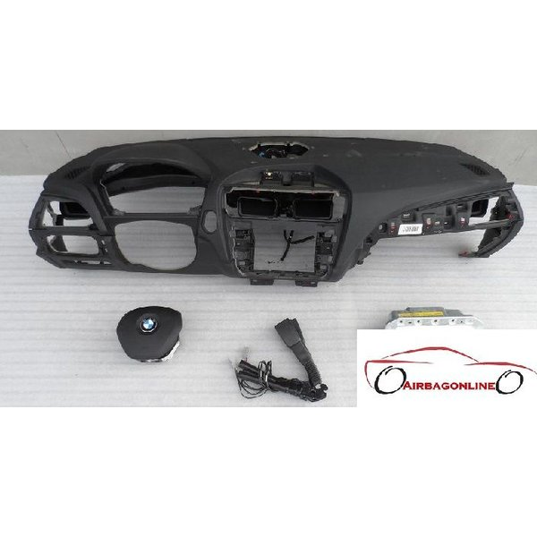BMW 1 Serie F20 F21 Complete Airbag Set Dashboard Met Navi