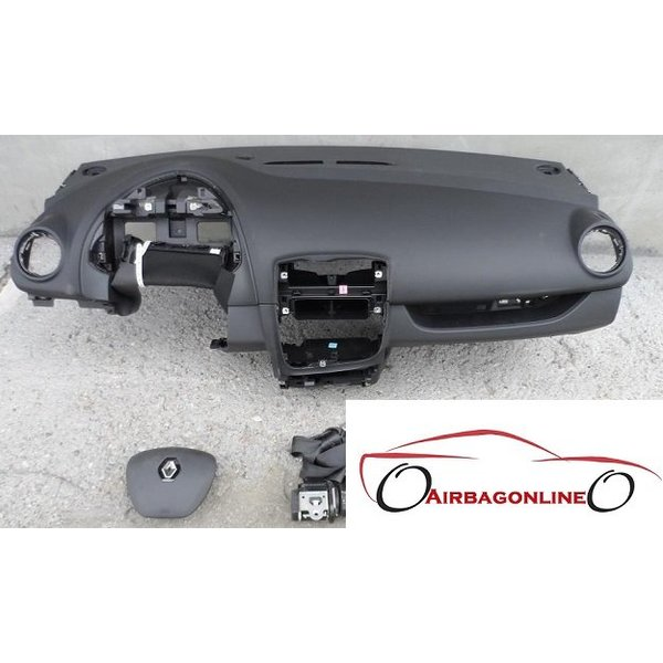 Renault Clio 4 Complete Airbag Set Dashboard
