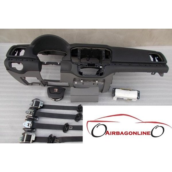 Seat Alhambra complete dashboard airbag set
