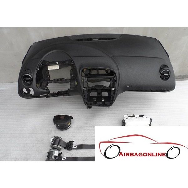 Seat Altea complete airbag set dashboard facacelift