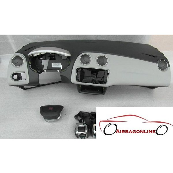 Seat Ibiza 6J complete dashboard airbag set