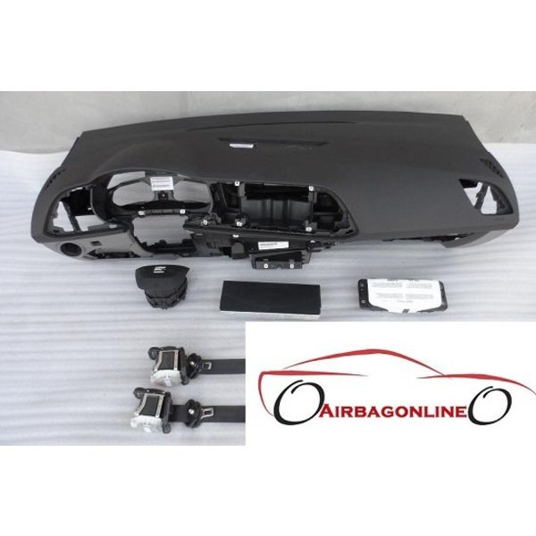 Seat Leon Complete dashboard airbag set