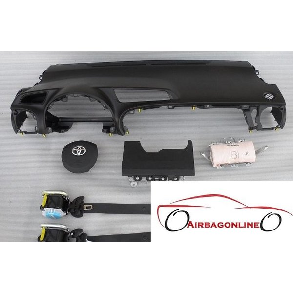 Toyota Yaris 3 Complete Dashboard Airbag Set
