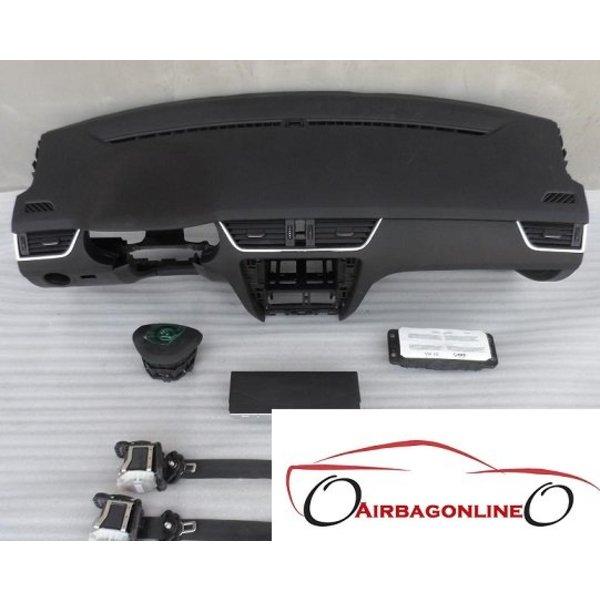 Octavia 3 Complete dashboard airbag set