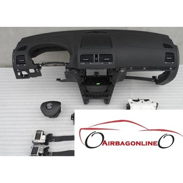 Skoda Yeti complete airbag set dashboard