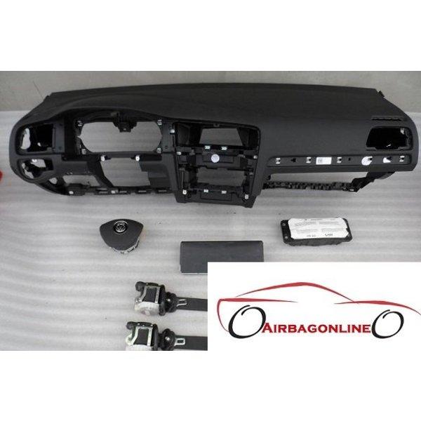 VW Golf 7 Complete Dashboard Airbag Set
