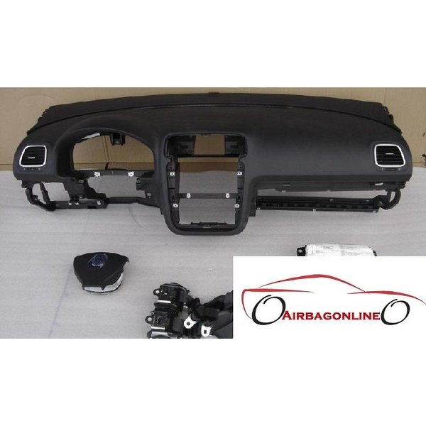 VW Eos Complete Dashboard Airbag Set