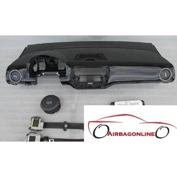 VW Up Complete airbag set dashboard hoogglans