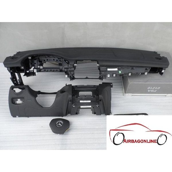 Mercedes CLS W218 Complete Airbag Set Dashboard