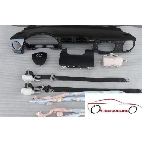 Toyota Auris Complete Airbag Set Dashboard Met Hemel Airbags