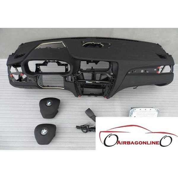 BMW X3 F25 Complete Airbag Set Dashboard Head Up