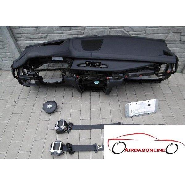 BMW X5 F15 Complete Airbag Set Dashboard Leer Met Head Up