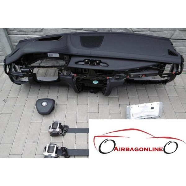 BMW X6 F16 Complete Airbag Set Dashboard Leer Met Head Up Display