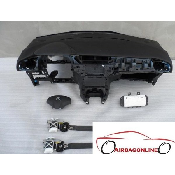 Citroen C3 Complete Airbag Set Dashboard Nieuw Model