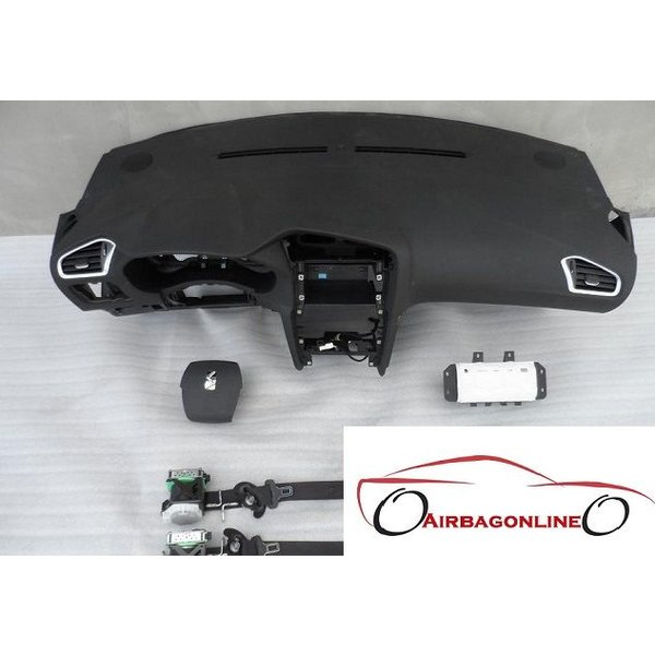 Citroen DS4 Complete Airbag Set Dashboard 2011 - 2015