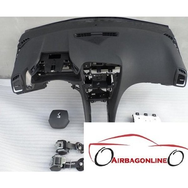 Citroen DS5 Complete Airbag Set Dashboard