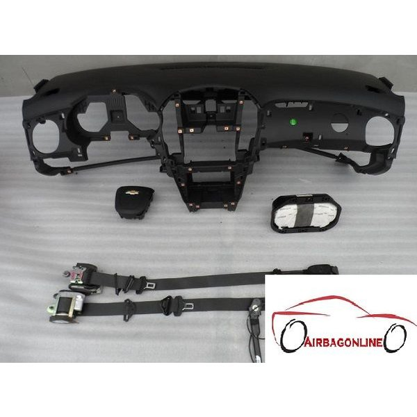 Chevrolet Cruze Complete Airbag Set Dashboard