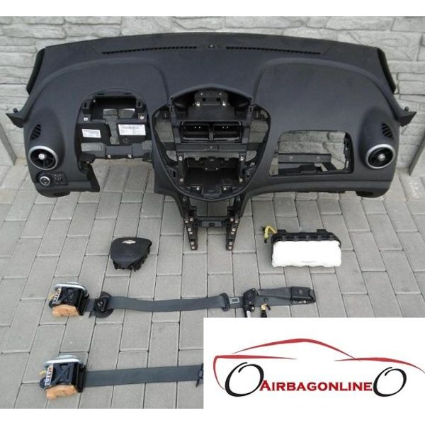 Chevrolet Trax Complete Airbag Set Dashboard