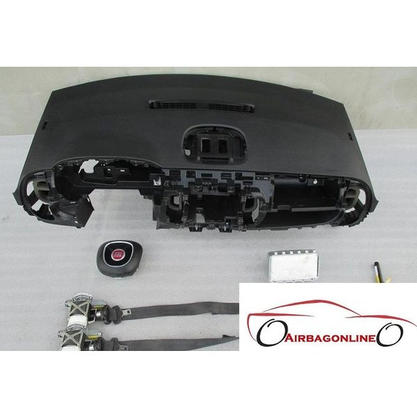Fiat 500L Complete Airbag Set Dashboard