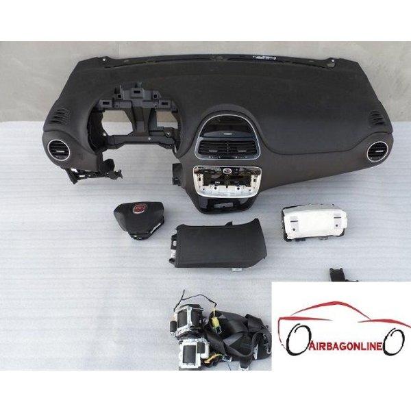 Fiat Punto Evo Complete Airbag Set Dashboard