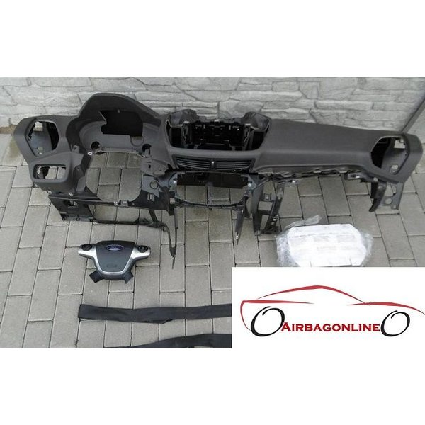 Ford C-MAX Complete Airbag Set Dashboard