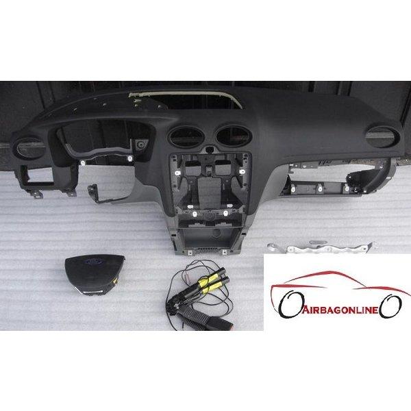 Ford Focus GHIA MK2 Complete Airbag Set Dashboard