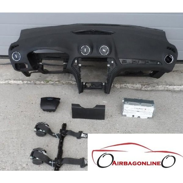 Ford Mondeo MK4 Complete Airbag Set Dashboard