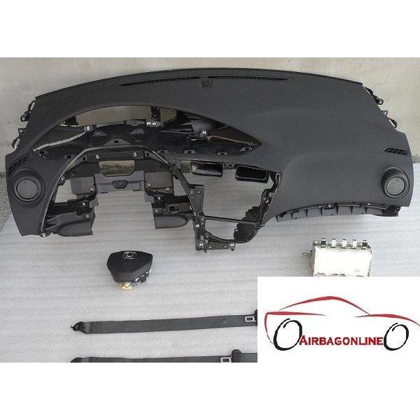 Honda Civic Complete Airbag Set Dashboard 2012 - heden