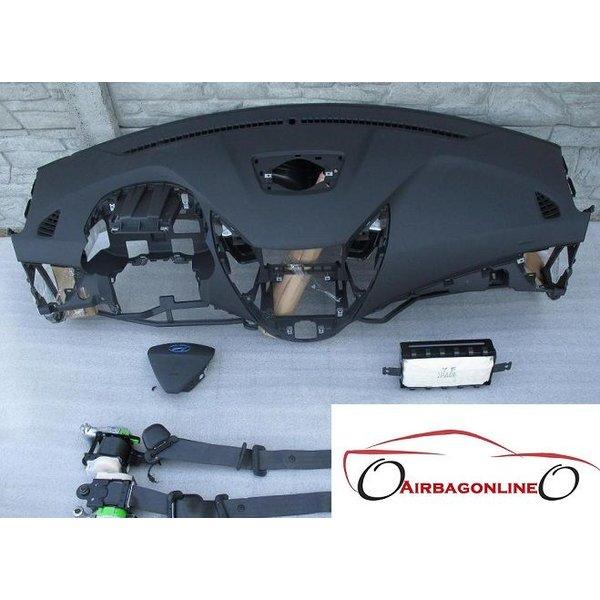 Hyundai Veloster Complete Airbag Set Dashboard